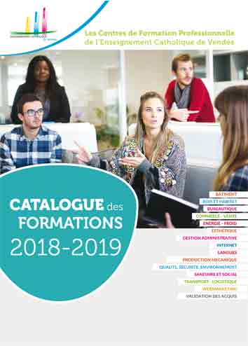 catalogue formations CFA 2018