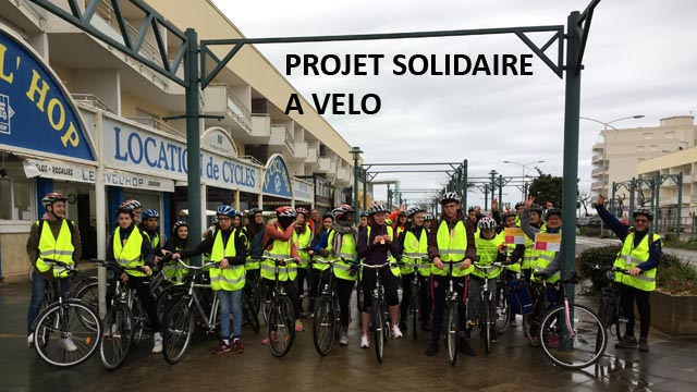 PAE projet solidaire a velo